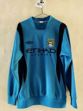 Jaket sweater Umbro Manchester City Home