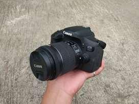 Canon 750d mulus ngedoff fulset