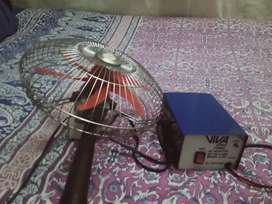Fan and adaptor full new condition