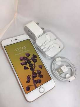 I PHONE 8 64GB ROSE GOLD COLOUR WITH WARRANTY BRAND NEW MOBILE