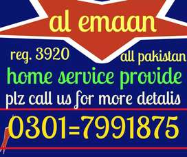 AL home services provide all in kinds Plz call us 0345=0667112