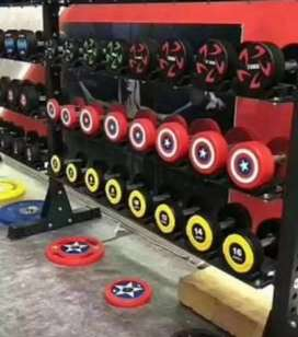 Gym equipments imported