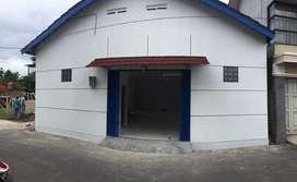 Disewakan Gudang bangunan baru