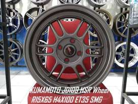 Velg Mobil HSR Wheel KUMAMOTO Ring 15 Untuk Vios Jazz dll