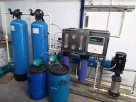 RO water purifier plants seal's and services