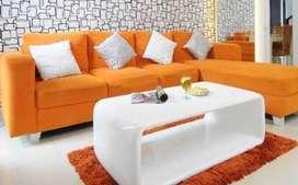 sofa backdrop meja makan kursi lemari buffet Penyekat ruangan AM