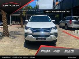 Toyota Fortuner, 2019, Diesel
