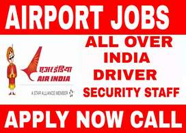 Required in Airport Driver and Security Staff