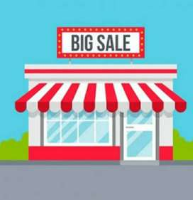 Shop for sale in rajgarh main road
