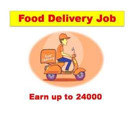 Food Delivery Full Time / Part Time / Weekend 100 openings