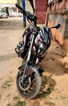 Bajaj dominor on sale, less driven