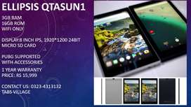 4G calling Lenovo 2GB/16GB PUBG Supported 1 year warranty& accessories