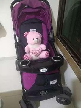 Luvlap stroller/pram for sale at give away price