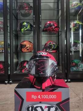 Jual helm NXRACE carbon black red