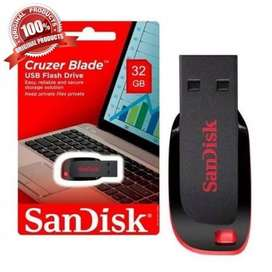 Flashdisk 32gb Sandisk CZ50 Blade Original