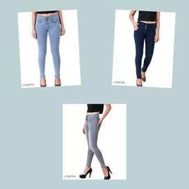 Trendy Women's Jeans  Fabric: Denim Multipack