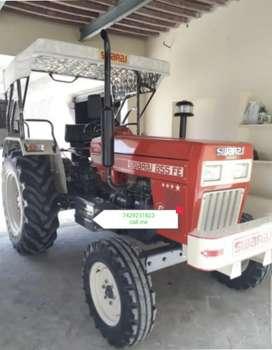 Tractor Swaraj 2016 model showroom colour