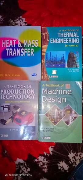 B. Tech (Mechanical) and Diploma ( Mechanical) Books