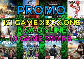 isi game xbox one bisa  online promo