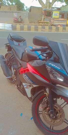 Yamaha R15 V2 modified