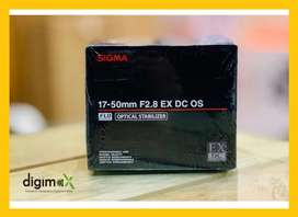 Sigma 17-50 F2.8 OSS for Nikon , Canon mount available
