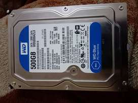 WD 500 GB HDD