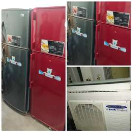 with 5 year warranty LG 260 liter double door fridge with delivery