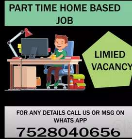 Only 15 vacancies left for offline Data entry job.