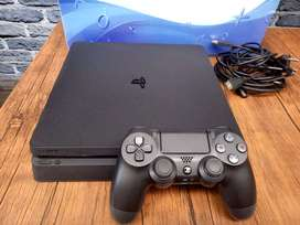 PS4 Slim 1 TB Mulus Original Full Set