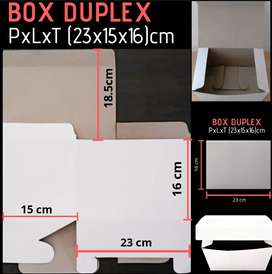 Karton   Packaging   Box   Duplex 23x15x16cm