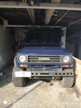 Dijual Daihatsu Taft GT 4x4 Antik 85