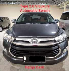 Pemakaian 2017 V Luxury Bensin Matic Reborn Innova Toyota Kijang