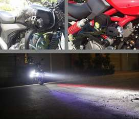 Lampu Sorot Tembak Jarak Jauh - Projector Headlight Headlamp Motor