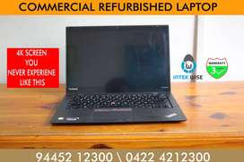 HIGH BUSINES S CLASS WITH ROYAL  LOOK COMMERCIAL REFURBISHED LAPTOP