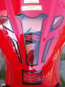Tank pad pelindung tangki motor sport ninja cbr byson vxon r25 r15 dll