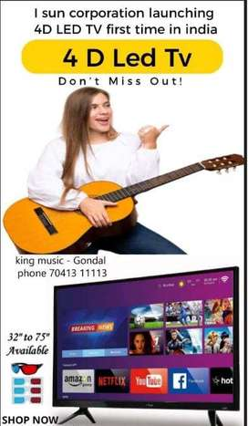4d Smart LED TV-All Size with Advance features / Starting Rate 12500/-