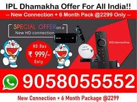 Bumper dhamakha offer india! Tata sky HD 6M Free Tatasky, Airtel Dish!