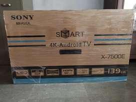"43"" sony model no:x7500e led 4k Ultra UHD Android smart TV Rs24000"