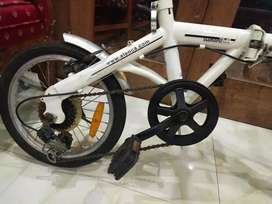 "Sepeda lipat ALEOCA carino 16"" 6 speed . siap pakai"