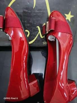 Sepatu EVB size 38 maron like new