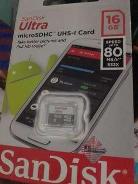 memory sandisk original 32 gb dan 16 gb
