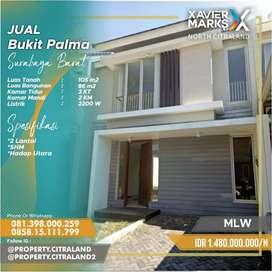 Dijual Rumah Minimalis Bukit Palma Surabaya Barat