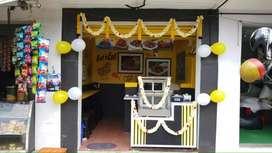 Koli hut (Five star chicken)franchise for resale at J P nagar. Urgent