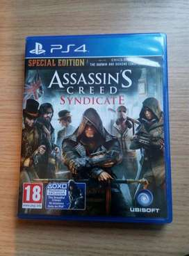 PS4 Assassin Creed Syndicate. Uncharted, God Of War