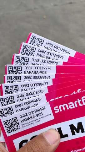 KARTU KUOTA SMARTFREN39GB, 71GB, 106GB GRATIS ONGKIR
