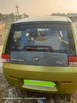 Mahindra e2o 2015 Electric Good Condition