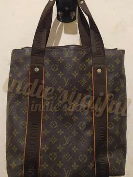 PreLoved Cabas Beaubourg Tote Bag LV Louis Vuitton