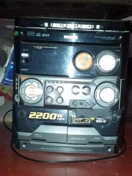philips hifi music system 2200 watt unit no box