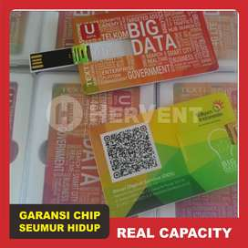 USB Bentuk Model Card Cetak Promosi (Flashdisk Kartu Custom)