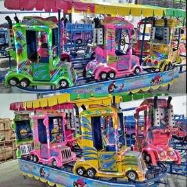 kereta panggung doong truk siap muat rupiah UK
